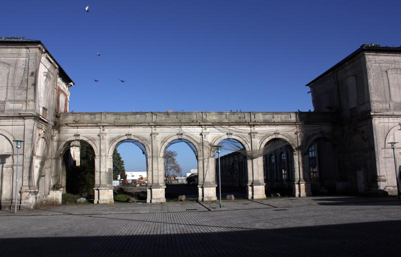 Ancienne gare - Avant les travaux