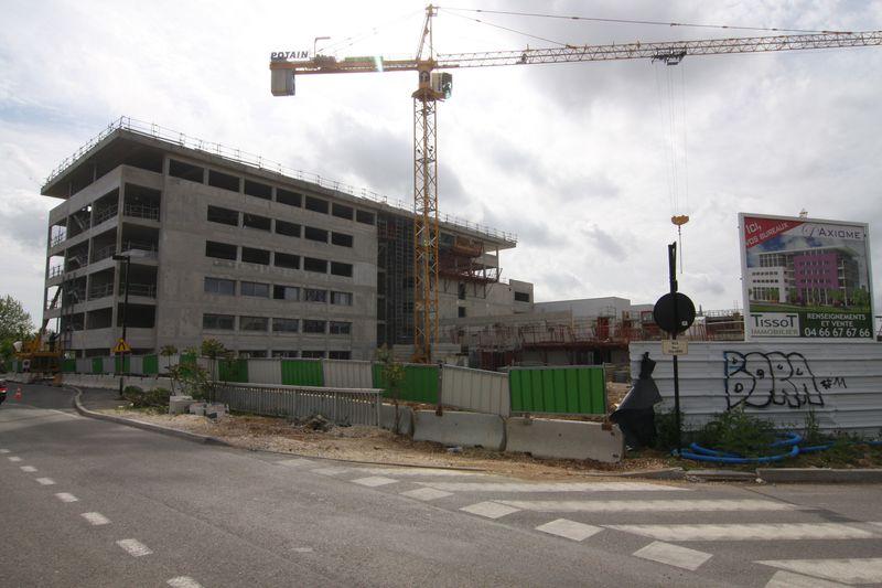 Chantier L'Axiome 15.04.2009