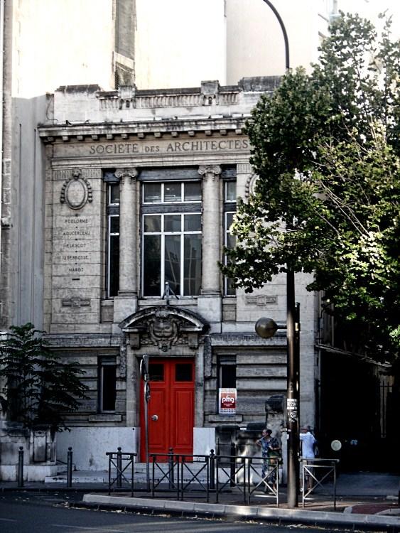 Syndicat des architectes des Bouches-du-Rhône