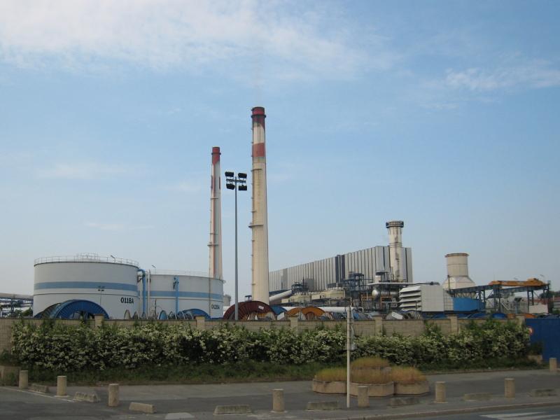 Centrale thermique de Vitry