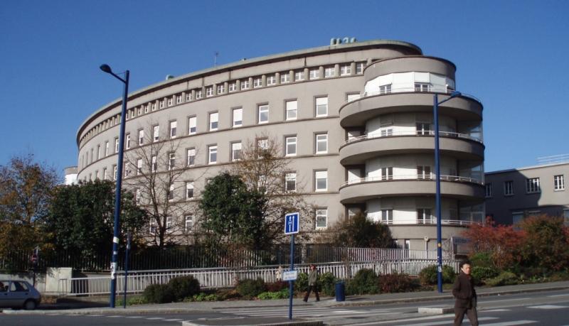 Hôpital Morvan - bâtiment des