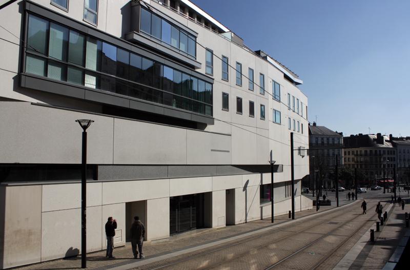 Façade ouest (rue de la Boucherie)
